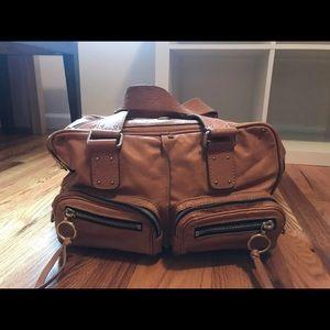 Authentic Chloé havane leather bag